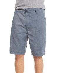 Rip Curl | Blue 'constant' Walking Shorts for Men | Lyst