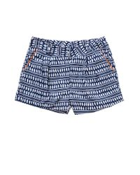 lemlem | Blue Cuffed Shorts | Lyst