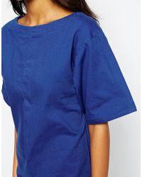 WOOD WOOD - Blue Tulla Rosa Dress - Lyst