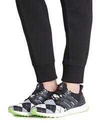 Adidas - Black X Kris Van Assche Argyle-knit Trainers for Men - Lyst