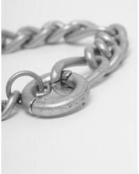Cheap Monday | Metallic Hockney Bracelet for Men | Lyst