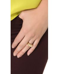 Gabriela Artigas - Signet Ring - Yellow Gold - Lyst