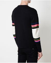 Saint Laurent - Multicolor Dinosaur Patterned Knit for Men - Lyst