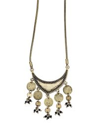Jenny Bird | Metallic August Moon Necklace | Lyst