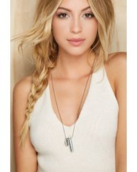 Forever 21 - Metallic Half United The Classic Necklace - Lyst