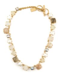 Kelly Wearstler - Natural 'Zinnia Bolo' Necklace - Lyst
