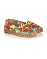 Dolce & Gabbana - Yellow Loafer - Lyst