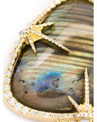 Venyx | Metallic 'theiya Obscura' Necklace | Lyst