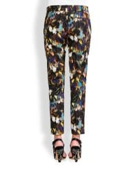 Valentino - Multicolor Butterfly Ikat Ankle Pants - Lyst