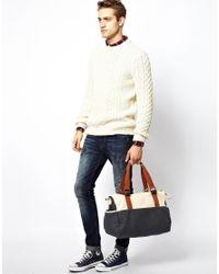 ASOS | Black Holdall in Block Color for Men | Lyst