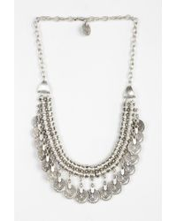 Urban Outfitters | Metallic Sogno Bello Coin Necklace | Lyst
