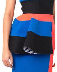 ROKSANDA - Blue Adhara Contrast-Panel Dress - Lyst