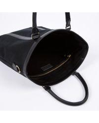 Paul Smith | Men's Black Canvas Flat Travel Tote Bag for Men | Lyst