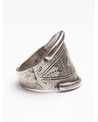 Free People | Metallic Mhart Womens Tassendert Ring | Lyst