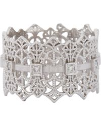 Grace Lee - White Lace Crown Ring Size 6 - Lyst
