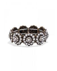 BaubleBar | Metallic Crystal Zodiac Stretch Bracelet | Lyst