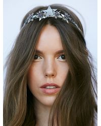 Free People - Metallic Womens Own The Night Crown - Lyst