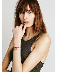 Free People - Metallic De Petra Womens Sacred Heart Bracelet - Lyst