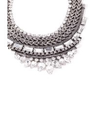 Forever 21 - Metallic Stacked Tribal-Inspired Necklace - Lyst