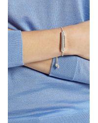 Monica Vinader - Metallic Baja Sterling Silver Diamond Bracelet - Lyst