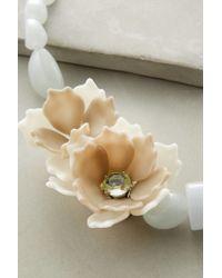 Anthropologie - Blue Bloomtide Necklace - Lyst