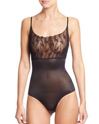 Wolford | Black Lilie Forming Bodysuit | Lyst