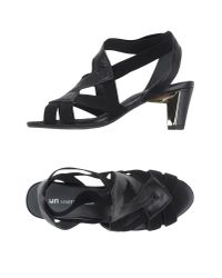 United Nude - Black Sandals - Lyst
