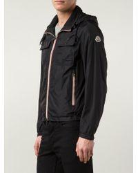 Moncler - Black 'Lyon' Jacket for Men - Lyst