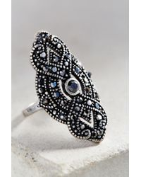 Urban Outfitters | Metallic Gatsby Deco Party Ring | Lyst