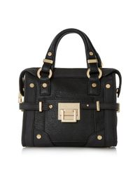 Dune | Black Dinidellta Mini Buckle Tote | Lyst