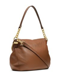 MICHAEL Michael Kors - Brown Medium Bedford Tassel Convertible Shoulder Bag - Lyst