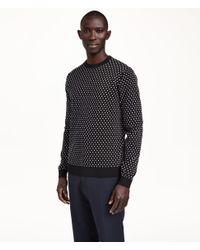 H&M - Black Jumper In Premium Cotton for Men - Lyst