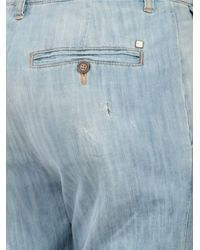 DSquared² - Blue Straight Leg Jean - Lyst