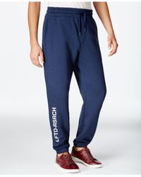 LRG | Blue Lifted 47 Sweatpants for Men | Lyst