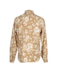 C P Company - Natural Shirt for Men - Lyst
