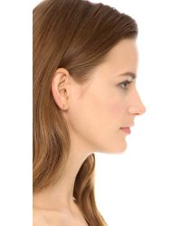 Gorjana - Metallic Olympia Stud Earrings - Gold - Lyst