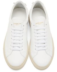 Givenchy | White Codification Low-top Sneakers for Men | Lyst