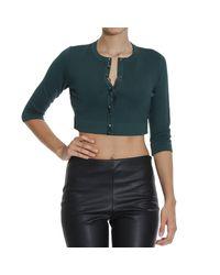 Pinko | Green Sweater Woman | Lyst