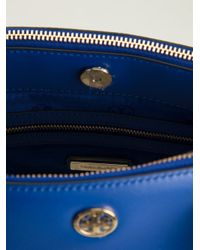 Tory Burch - Blue 'Robinson' Double Zip Tote - Lyst
