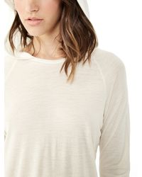 Alternative Apparel | White Arabesque Wool Modal Hoodie | Lyst