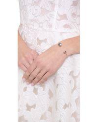 Heather Hawkins - Metallic Splendor Spike Cut Bangle Bracelet - Lyst
