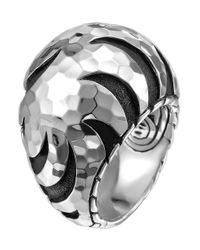 John Hardy - Metallic Palu Dome Ring - Lyst