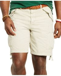 Polo Ralph Lauren | Natural Big And Tall Classic-fit Ripstop Cargo Short for Men | Lyst
