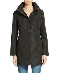 Ellen Tracy   Black Petite Packable Rain Jacket   Lyst