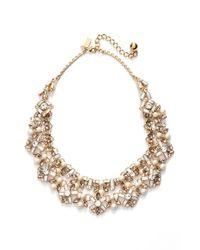 kate spade new york - Metallic 'cocktails & Conversation' Collar Necklace - Neutral Multi - Lyst
