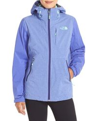 The North Face - Purple Thermoball Triclimate Water-Resistant Jacket - Lyst