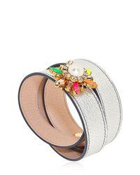 Shourouk | Multicolor Beedis Bracelet | Lyst