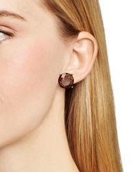 Pink Pony | Metallic Lauren Stud Earrings | Lyst