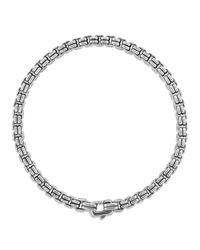 David Yurman | Metallic Double Box Chain Bracelet for Men | Lyst