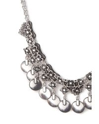 Forever 21 - Metallic Etched Chain Necklace Set - Lyst